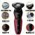 フレップス電気シェーバー男性充電式髭剃りサーベル電気髭剃刀txd 3枚刃全身水洗理容式S 5095