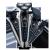 シェーバー電気シェーバー男性の髭剃りUSB充電式の3つの刃は全身水洗い多機能電気シェーバー8500 Aの色です。