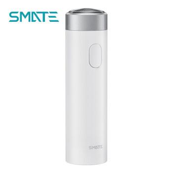 SMATE(SMATE)電気シェーバー黒科学技術ターボ三つ葉携帯全身水洗シェーバーST-R 101白